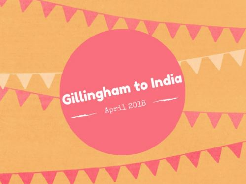 Gillingham to India